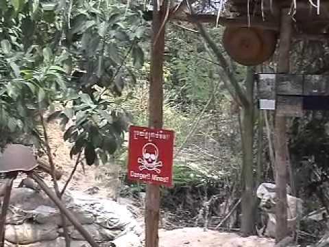 Aki Ra's Land Mine Museum in Siem Reap, Cambodia