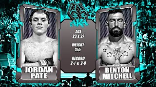 AKA ROP12 Fight 3 Benton Mitchell vs Jordan Pate