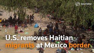 Download U.S. removes Haitian migrants at Mexico border
