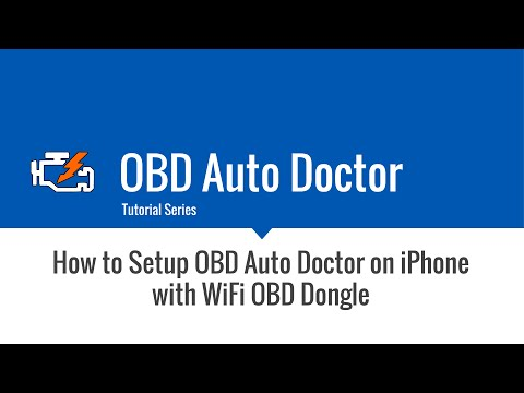 iphone wifi obd dongle tutorial youtube. Black Bedroom Furniture Sets. Home Design Ideas