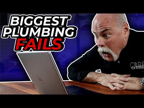 MASTER PLUMBER REACTS to the BIGGEST PLUMBING FAILS on YOUTUBE