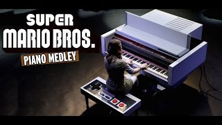 Super Mario Bros Medley - Sonya Belousova (Player Piano)