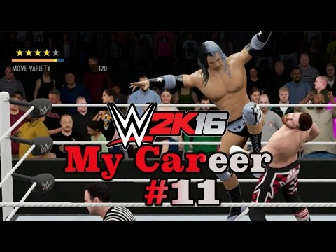 JD Plays WWE 2K16 My Career #11 - 5 Star Athlete Having 5 Star Matches!!