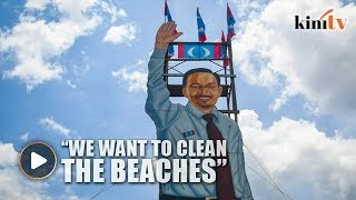 Anwar promises to make PD beaches 'great again'