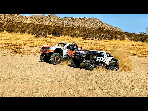 Traxxas Monster Slash 4x4 And Unlimited Desert Racer RC UDR Full Assault Desert Style
