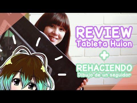 Rehaciendo dibujo de un seguidor + Review HUION KAMVAS GT-221 ❤✨