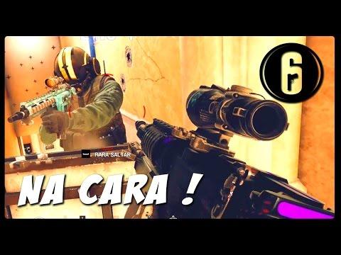 BATEU DE FRENTE COM O BUCK É CAIXA - RAINBOW SIX SIEGE