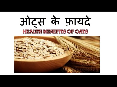 ओट्स खाने के फ़ायदे, Health Benefits of Oats in Hindi | Oats for weight loss & Healthy Heart