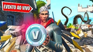 LIVE V-BUCKS DRAW!!! MONSTER EVENT HAPPENING NOW!! FORTNITE TO THE STORE UPDATE!!!