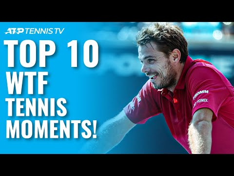Top 10 WTF Tennis Moments!