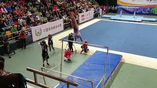 Fan Yilin Uneven Bars Performance (21/10/2017) - 國家體操匯香港 National Gymnastics Extravaganza