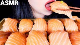 ASMR SALMON SUSHI 연어초밥 サーモン寿司 …