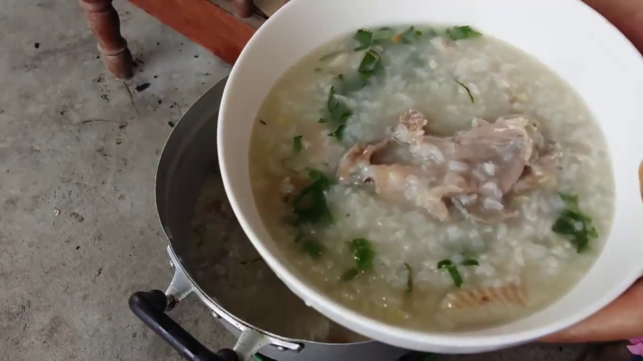 Amazing Cooking Rice Fish Soup Easy Cooking Rice Soup With Fish Youtube