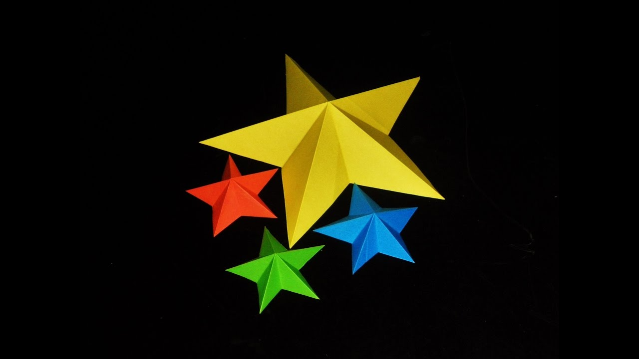 3D Origami star -- tutorial on page 2 - PAPER CRAFTS, SCRAPBOOKING ... | 720x1280