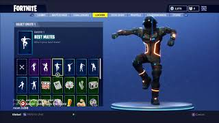 All my Fortnite Skins, Emotes, Pickaxes And More! - xX Josh0701 Xx