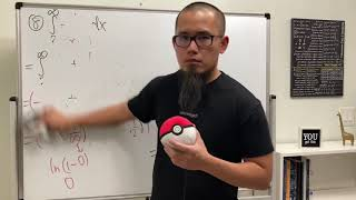 Calculus teacher erases 8 improper integrals