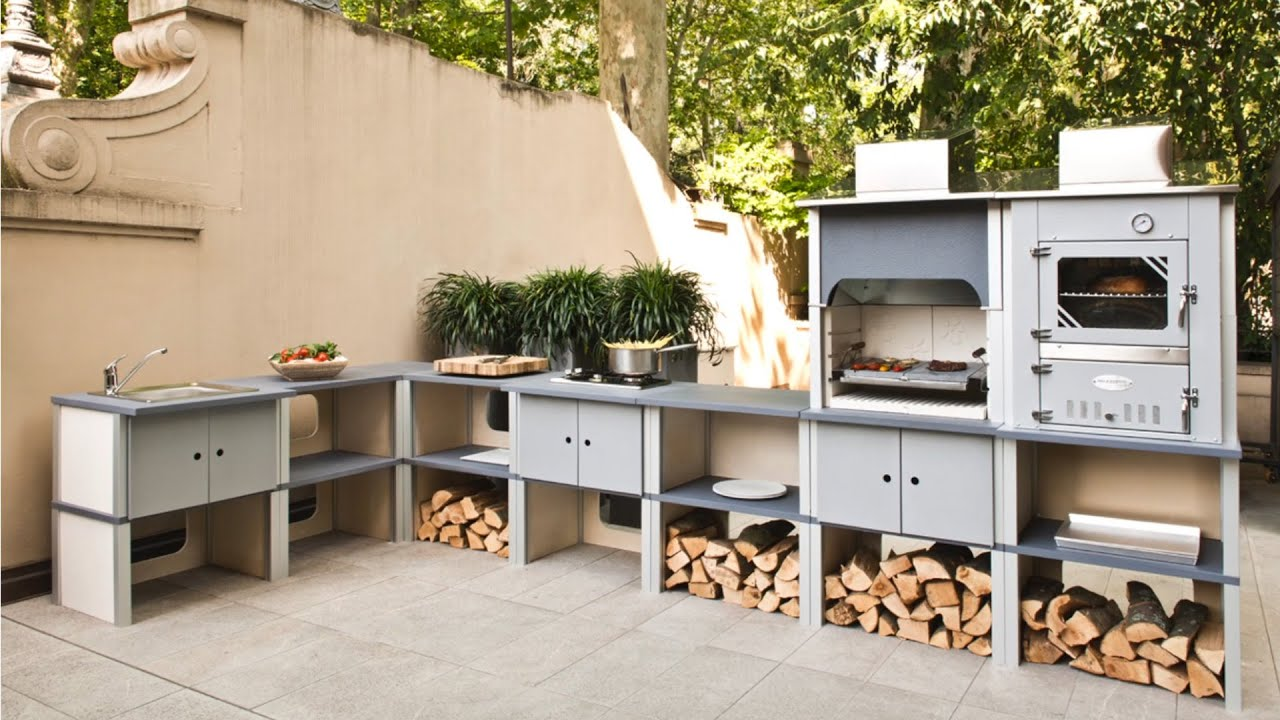 Cucina a legna o gas modulare St Vincent montaggio semplice e veloce  YouTube