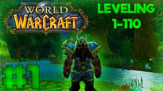 World of Warcraft: Legion | 1-110 #1 (Warrior) | How To Get To Level 10 In 10 Minutes!