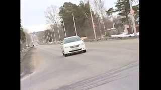 Toyota Camry тест драйв