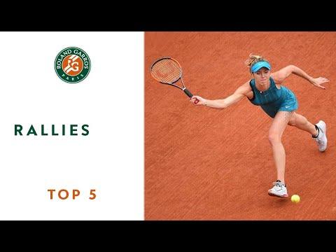 Rallies - TOP 5 | Roland Garros 2018