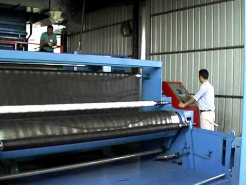 Non Woven Fabric Extrusion Line.mpg