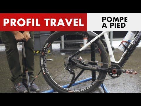 Zéfal Profil Travel - Pompe à pied compacte et efficace