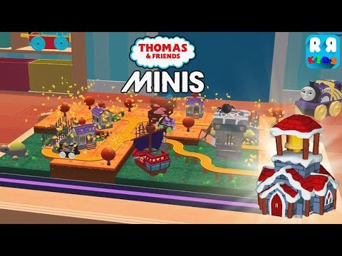Special Halloween Track The Pirate Port and New Decoration Ginger Church - Thomas & Friends Minis