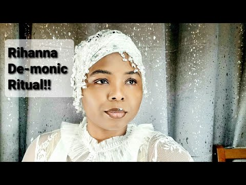 RIHANNA D-M0NIC RITUAL IN AFRICA. WHO EXACTLY IS RIHANNA!! #RIRI #FENTY #MUSIC #AFRICA #MAKEUP *W/S
