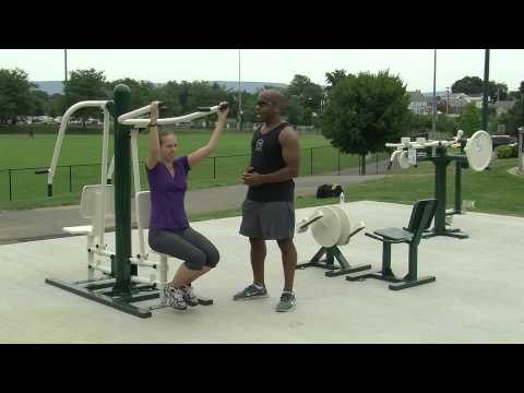 New to Fairgrounds Park – Outdoor Fitness Equipment Workout