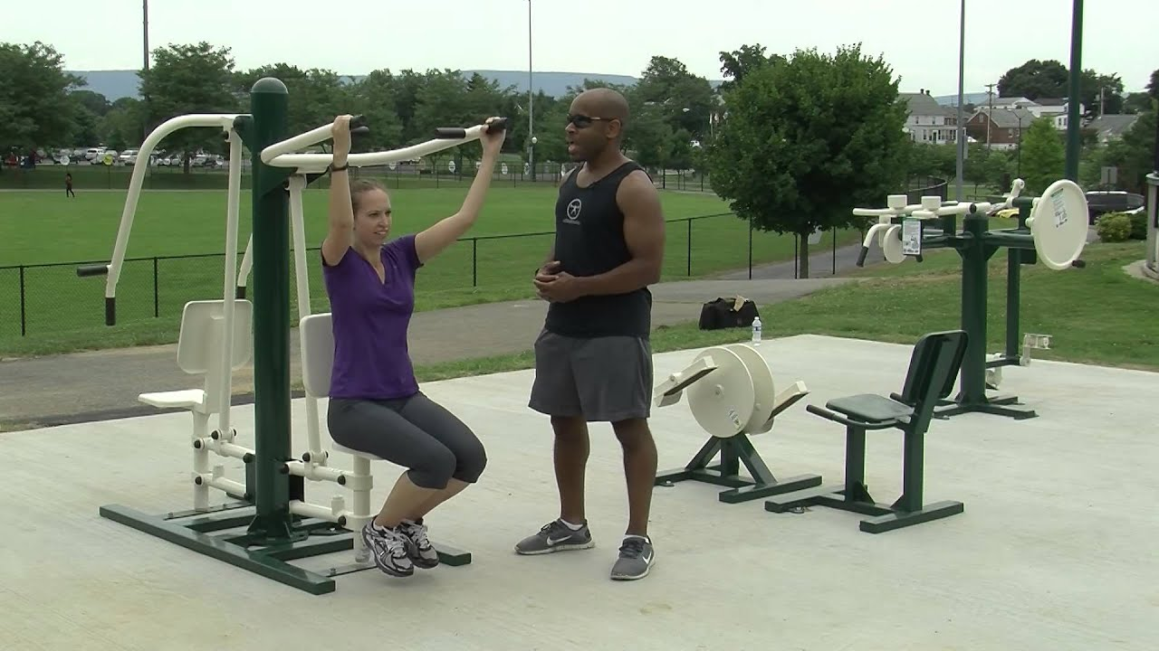 parks with workout stations near me