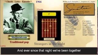 Frank Sinatra - Strangers In The Night #0159