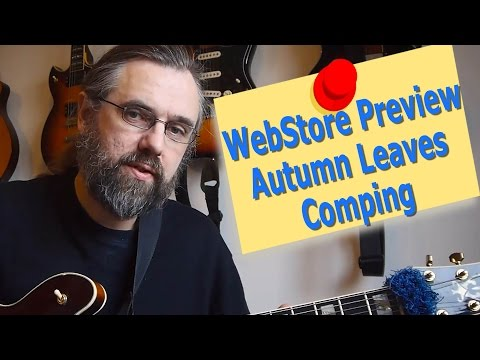 WebStore Preview - Autumn Leaves Comping lesson