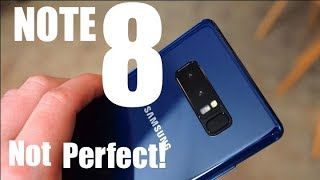 5 BIGGEST Problems with The Galaxy Note 8!