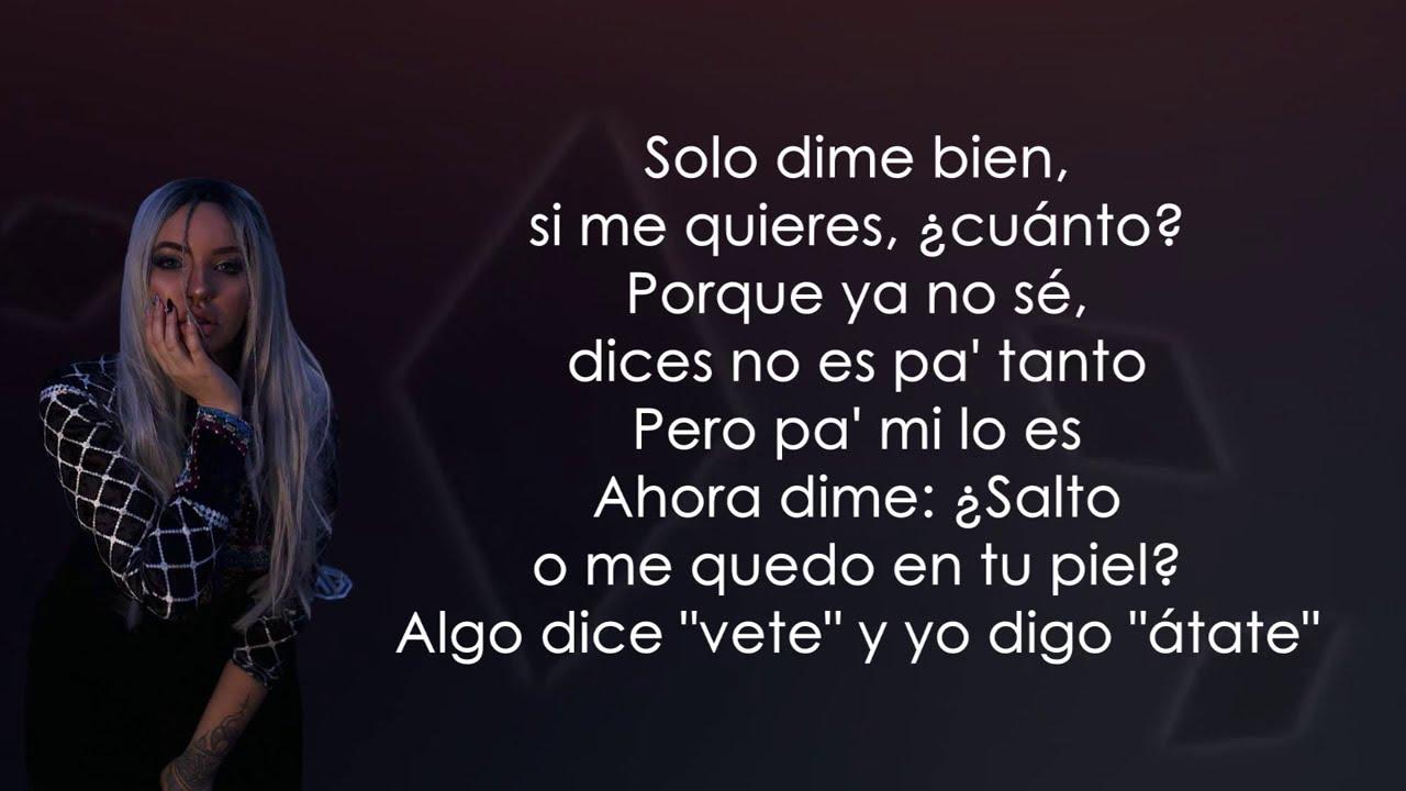 Karen Méndez - Cóseme (Letra/Lyrics)