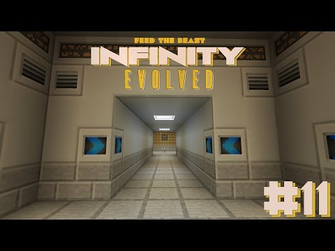 FTB: Infinity Evolved #11| New Base And Storage Drawers! - Modded Minecraft