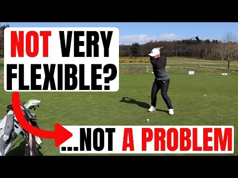 How To Create A More Powerful Golf Swing When You're Not Flexible!