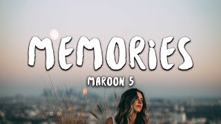 Gambar cover Maroon 5 - Memories (Lyrics)