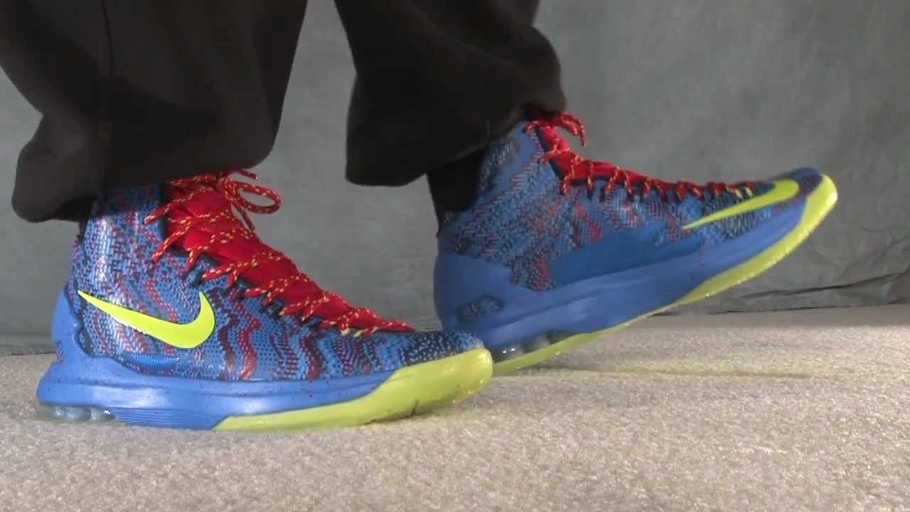 Kd 5 Christmas On Feet Kd 5 Christmas On Feet...
