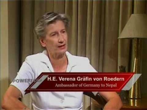 POWER TALKS 12. GERMANY. Ambassador Verena Grafin Von Roedern.11th May 2009