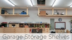 Wasted Space Garage Storage Shelves - 202
