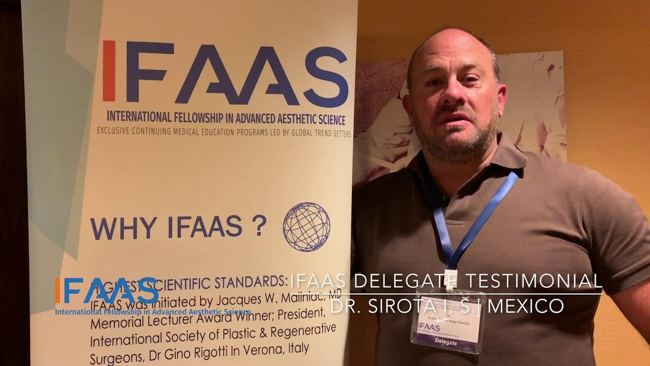 IFAAS Delegate Testimonial - Dr  Sirota S  | Mexico
