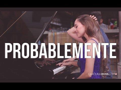 Probablemente - Christian Nodal ft. David Bisbal (Carolina Ross cover)