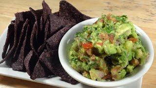 Rustic avocado salsa