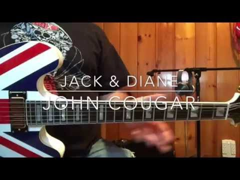 John Cougar \'Jack & Diane\' Guitar Lesson - YouTube