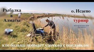 рыбалка в Алматы озеро Исаево турнир поплавковая ловля 2019 Fisherman 9