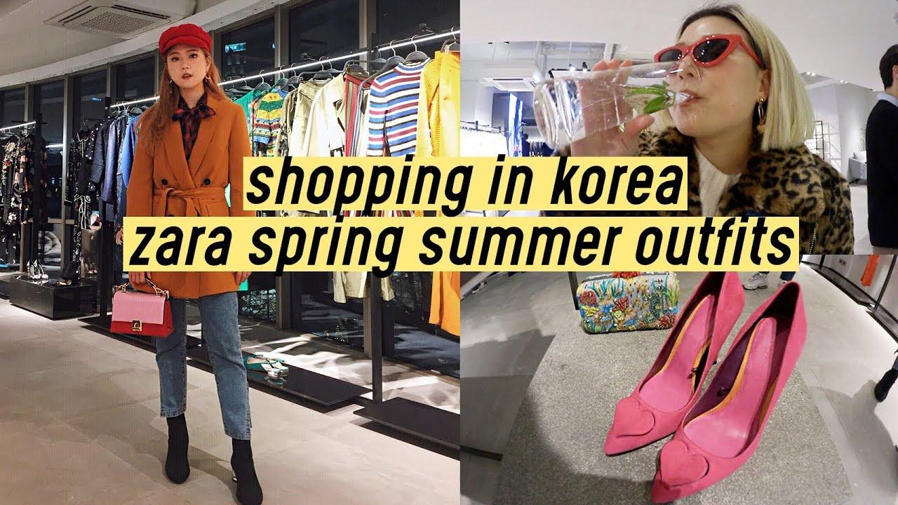 Shopping in Korea: Zara Spring Summer 2018 Outfits | Q2HAN 8