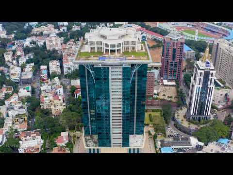 A short aerial video of Kingfisher Tower in UB City, Bangalore.