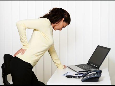 Спина болит когда прямо сижу