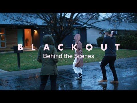 Making Of BLACKOUT Music Video - Steffany Gretzinger | BLACKOUT