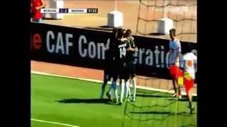 هدف مورغان بيتورنغال في مباراة مولودية بجاية - الجزائر ضد ميدياما - غانا